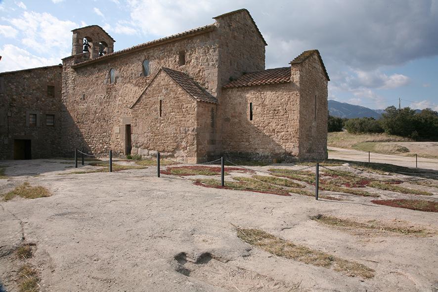 Sant Vicenç d'Obiols                    © Imatge Jordi Bastart