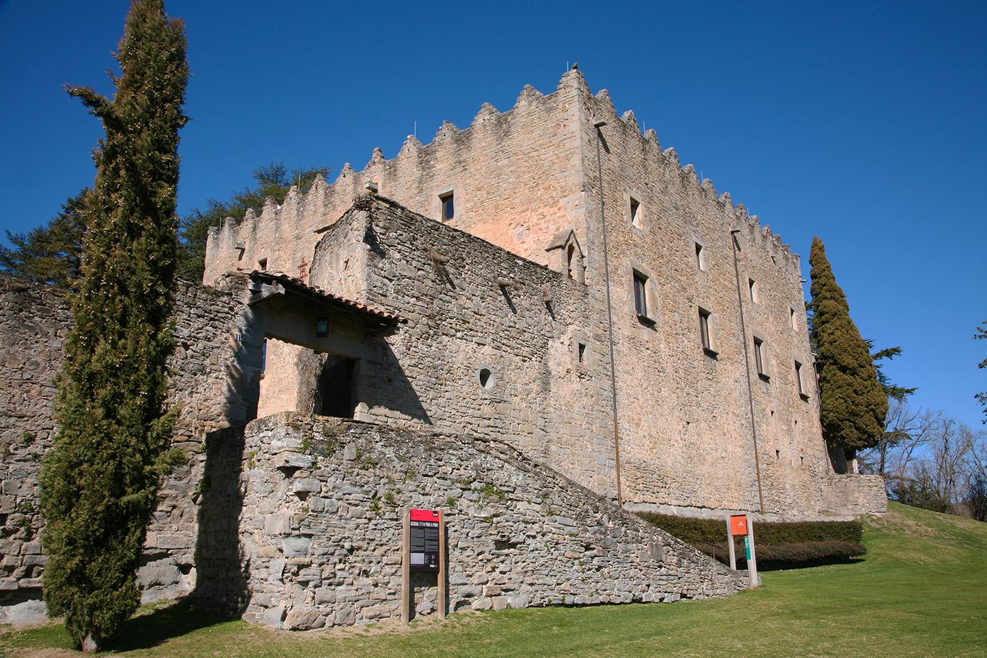 Castell de Montesquiu© Imatge Jordi Bastart