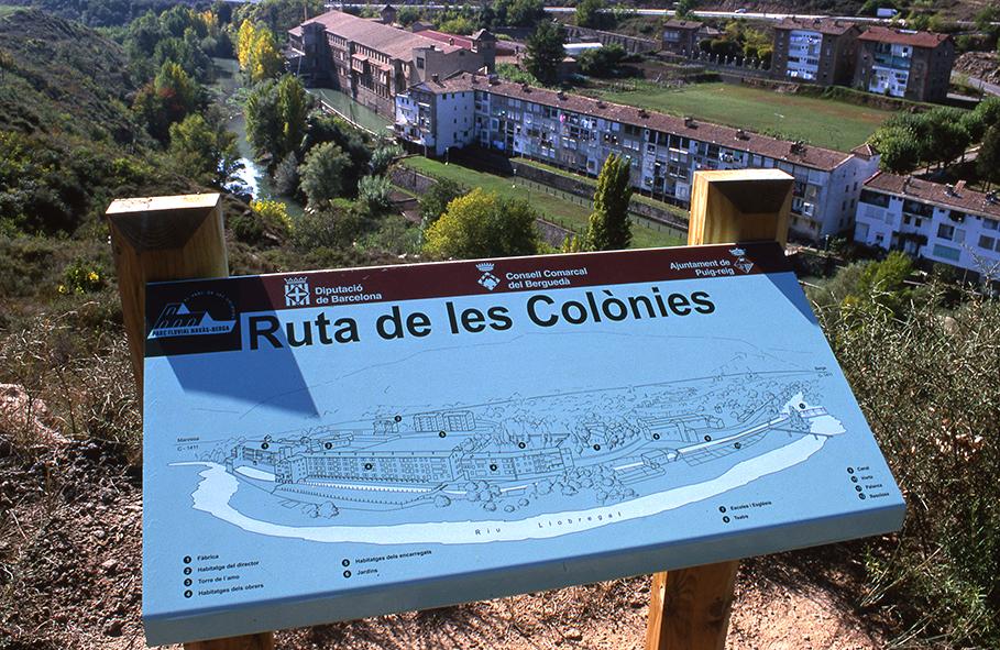 Ruta de les Colònies. Cal Guixeró                    © Imatge Jordi Bastart